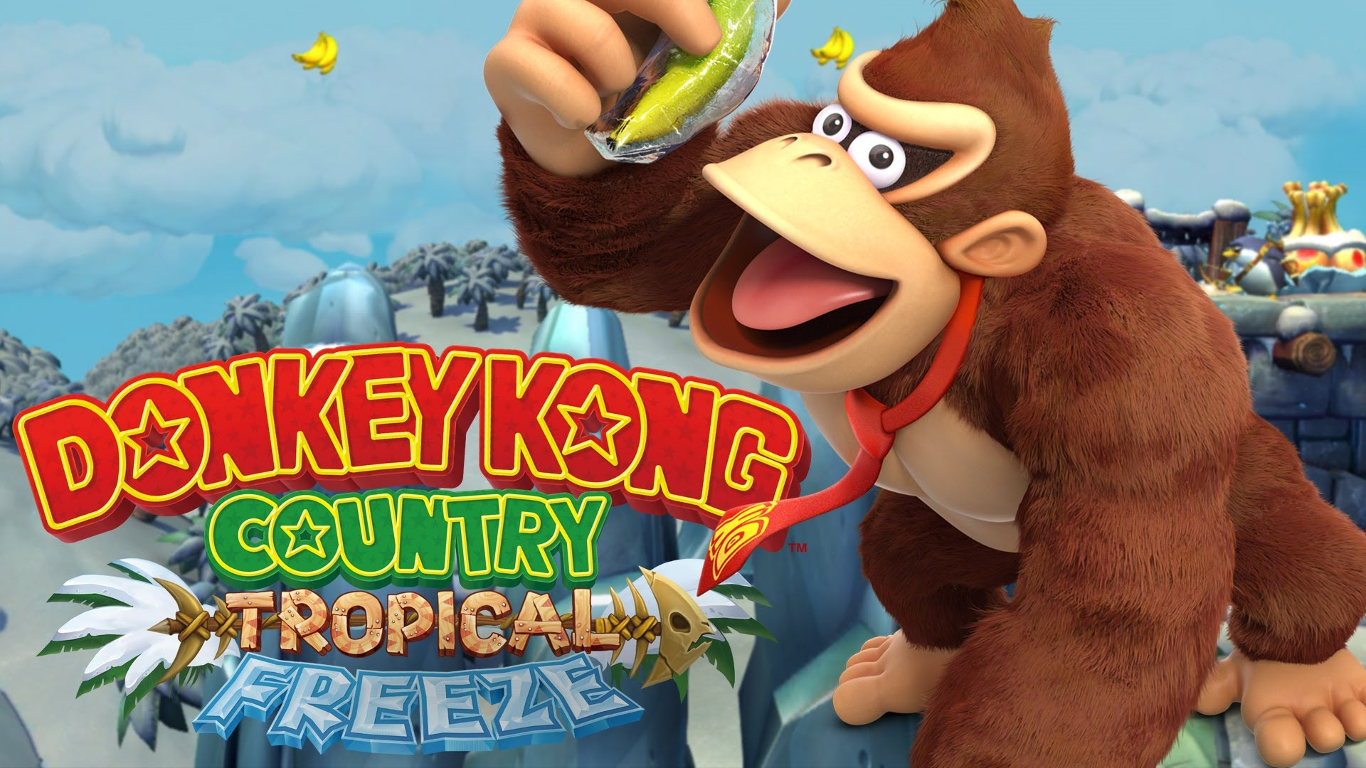Donkey Kong Country Tropical Freeze Wallpapers Mega Themes