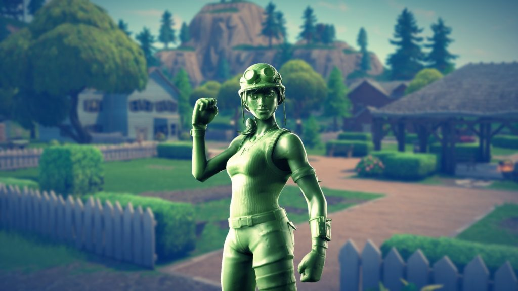 Toy Trooper Fortnite Rarity Fortnite Skins That Remind You Of Your Childhood Plastic Patroller And Toy Trooper Hq Wallpapers Mega Themes
