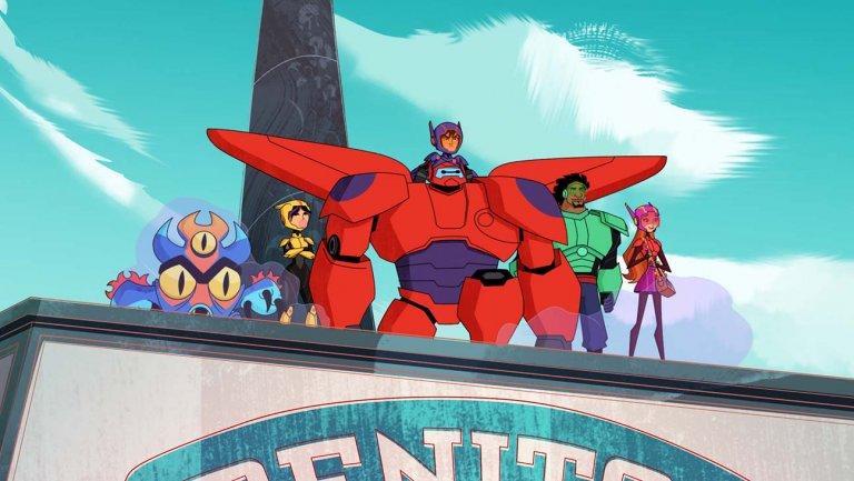 Big Hero 6 The Series Wallpaper