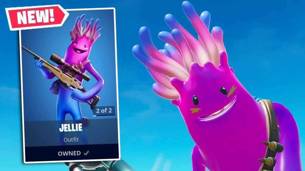 New Jellie Skin Is Here All Details Jellie Fortnite Skin Wallpapers Mega Themes