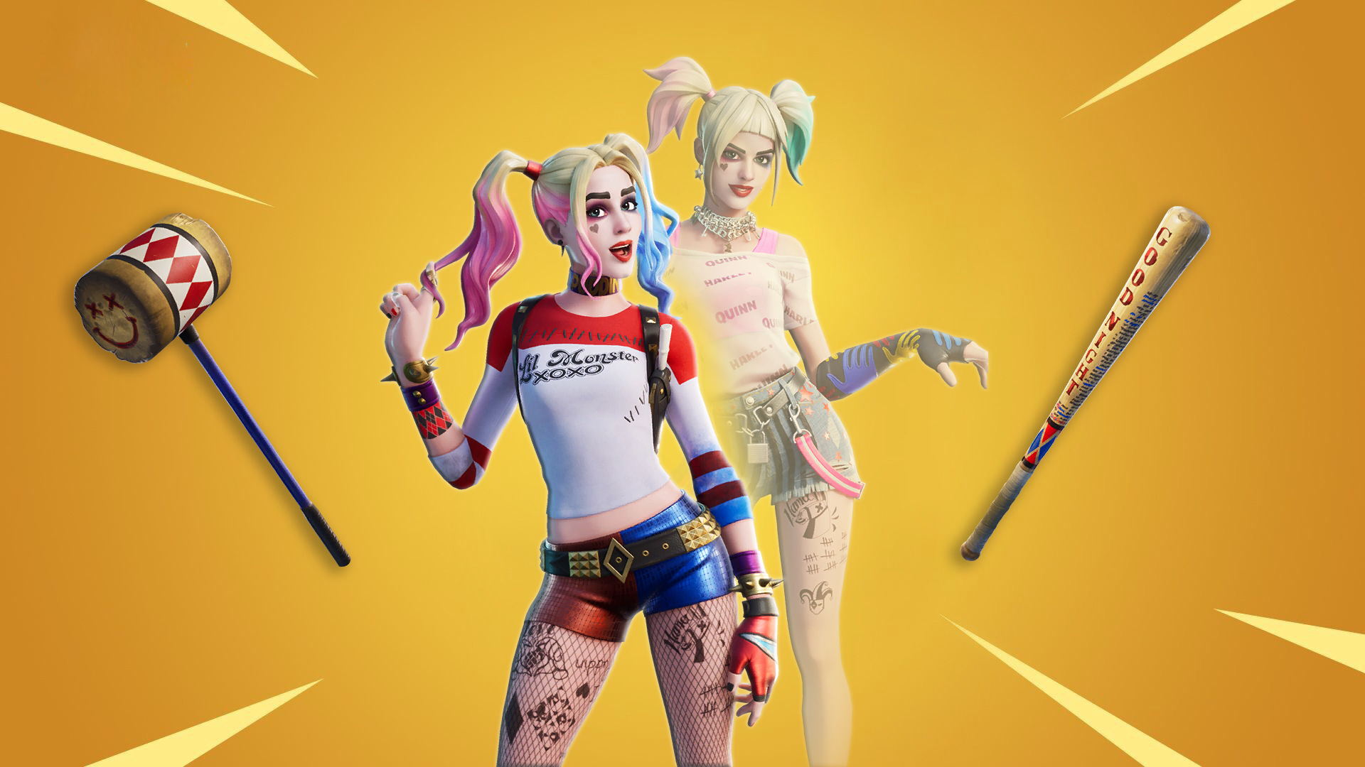Leaked Harley Quinn Fortnite Skin Wallpapers Everything You Need To Know Mega Themes