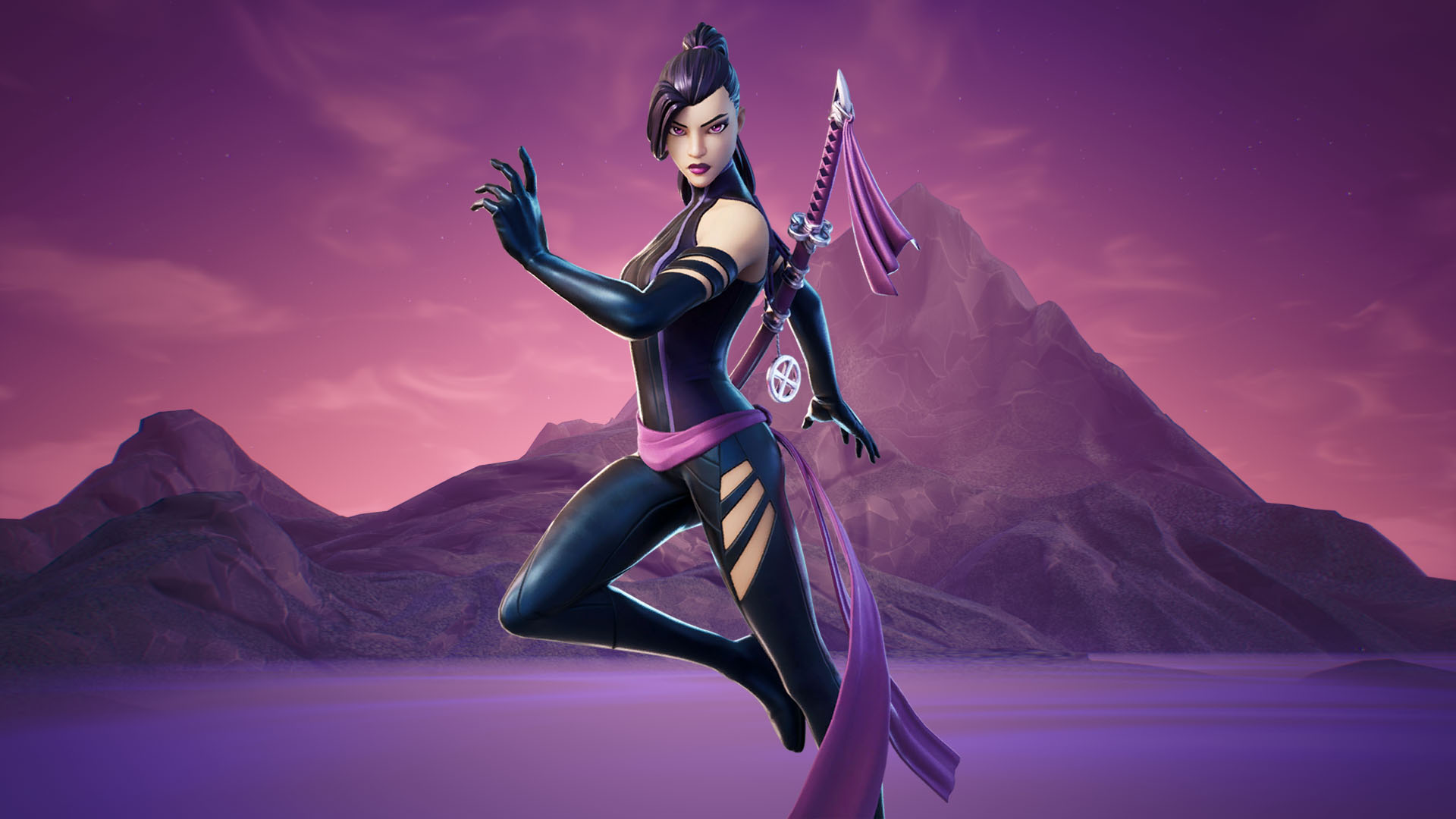 Psylocke Fortnite Wallpapers All Details About The New X Force Fortnite Skin Mega Themes