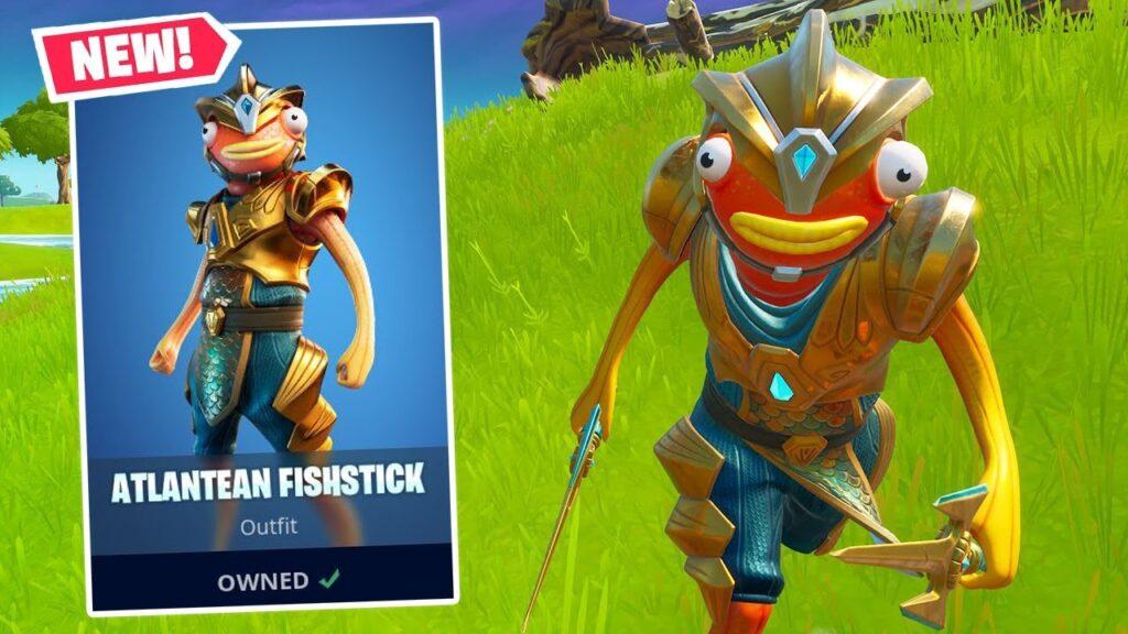 Atlantean Fishstick Is In Fortnite All Details Atlantean Fishstick Fortnite Wallpapers Mega Themes